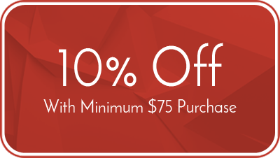 10% Off - With Minimum $75 Purchase